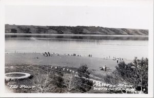 Manitou Beach Watrous SK Saskatchewan The Point Unused Real Photo Postcard F72