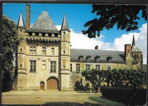1991 France Les Chateaux de la Loire Talcy, mailed