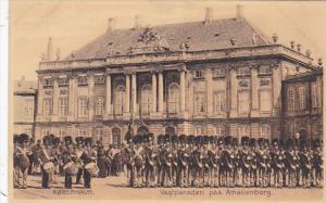 Denmark Copenhagen Military Parade Amalienborg