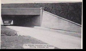Pennsylvania Frackville, The 300,000 Underpass And Roadway Dextre Press Archives