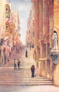 Malta Valletta, Strada S. Giovanni Street