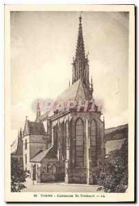 Old Postcard Thann Cathedrale St Thiebault