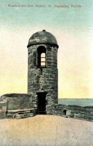 Florida St Augustine Fort Marion The Watch Tower