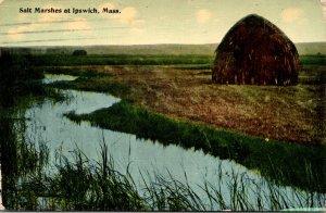 Massachusetts Ipswich Salt Marshes 1913