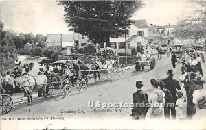 Coaching Day Jeffersonville NY 1910