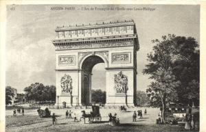 CPA Paris 16e (Dep. 75) L'Arc de Triomphe (88639)
