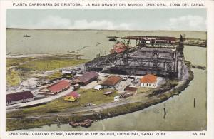 Cristobal Colaing Plant, Largest in the World, Canal Zone, Panama, 10-20s