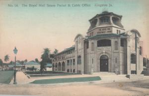 KINGSTON , JAMAICA, 1900-10s; Royal Mail Steam Packet & Cable Office