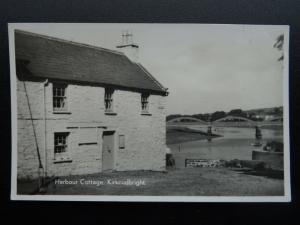 Scotland KIRKCUDBRIGHT The Harbour Cottage - Old RP Postcard