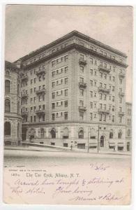 The Ten Eyck Albany New York 1905 postcard
