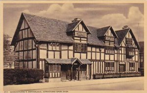 England Stratford upon Avon Shakespeare's Birthplace