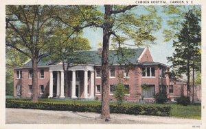 CAMDEN, South Carolina, 1900-10s; Camden Hospital