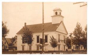 Vermont  Concord ,  Universalist Church , RPC