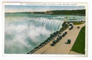 Horseshoe Falls from Victoria Park, Niagara Falls, unused Postcard