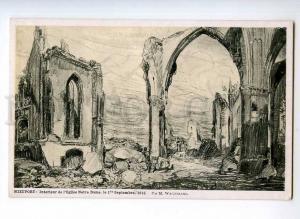 246482 Belgium NIEUWPOORT Notre Dame WAGEMANS Vintage CHARITY