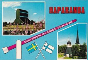 Sweden Haparanda Border Town Between Finland and Sweden
