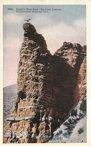Yellowstone Park MT~Eagle Nest Rock~Gardiner to Mammoth Hot Springs Road~1915