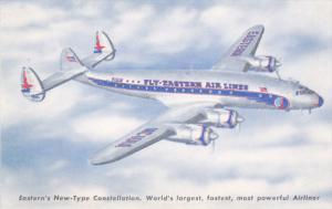 EASTERN Constellation  Airplane 50s