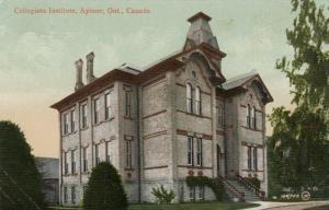 AYLMER , Ontario , 1910 ; Collegiate Institute