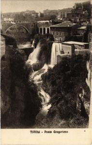 CPA TIVOLI Ponte Gregoriano ITALY (545486)