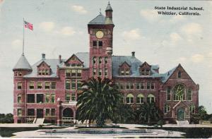 WHITTIER , California, 00-10s ; State Industrial School