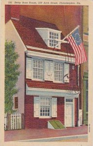 Pennsylvania Philadelphia Betsy Rose House 239 Arch Street 1987 Albertype