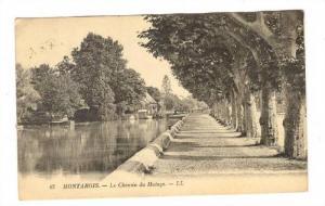 MONTARGIS, Le Chemin de Halage, Loiret, France, PU