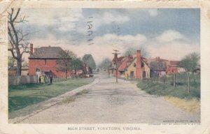 YORKTOWN , Virginia , PU-1907 ; Main Street