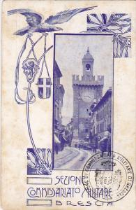 Sezione Commissariato Militare , BRESCIA ,  Italy , 1890s