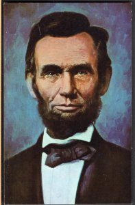 33120) Abraham Lincoln sixteenth President of the United States - Chrome