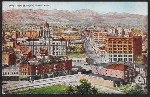 City of Denver Bird's Eye View Colorado Unused c1910s