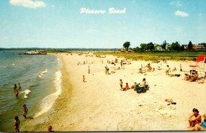Connecticut Waterford Scene Along Pleasure Beach