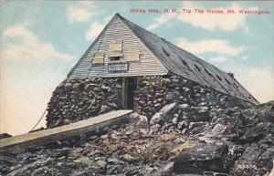 WHITE MOUNTAINS, New Hampshire, PU-1910; Tip Top House, Mt. Washington