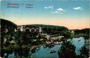 CPA Strassburg Orangerie (429145)