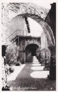 Mission San Juan Capistrano, California, Real Photo, 1940-1960s
