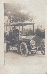 RP: Paris  , France , 1908 ; Limo Automobile