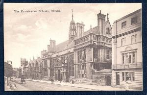 Examination Schools Oxford England unused c1920's