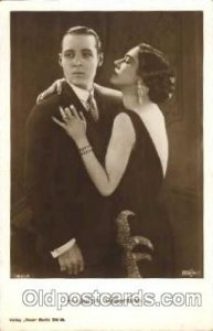 Rudolph Valentino & Nina Naldi Unused