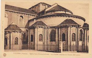 Poitiers , Vienne , France, 10-30s ; Eglise Saint-Hilaire-Le-Grand