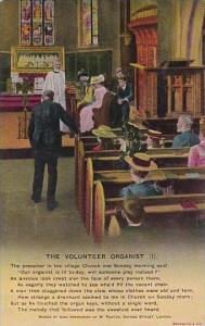 Bamforth The Volunteer Organist Card Number 1