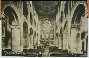England Waltham Abbey Church Nave East - unposted