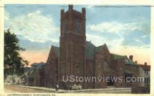 Lutheran Church Huntingdon PA 1939
