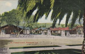 PASEDENA , California, 00-10s ; St. Francis Court