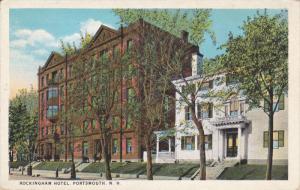 PORTSMOUTH, New Hampshire, 1900-1910's; Rockingham Hotel