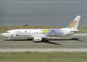 AIRTOURS, Boeing 737-46B, unused Postcard