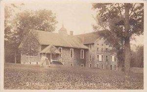 Maine Hebron Hebron Academy Gymnasium 1914 Real Photo RPPC
