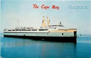 NJ, New Jersey, DE, Delaware, Cape May Ferry, E. Farthing No. S-58132-1