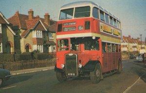 Southampton 15a Bus To Bassett Town Centre Postcard