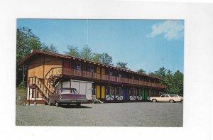 Vtg 1960's Greenwood Motel, Greenville Jct., Maine Postcard