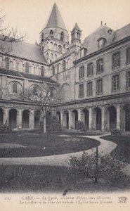 CAEN, France, 1910-1920s, Le Cloitre et la Tour centralede l'Eglise Saint-Eti...